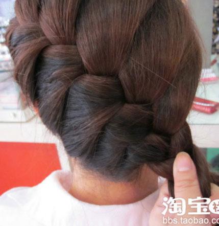 编头发花样图解图片 编头发大全图解编头发步骤大全图解
