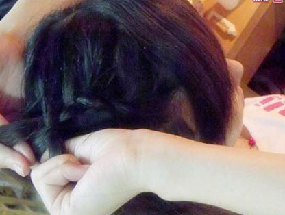 扎头发的样式