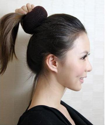 盘头发的方法图解 - zigetangbing的日志