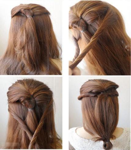 扎头发的方法图解 - zigetangbing的日志