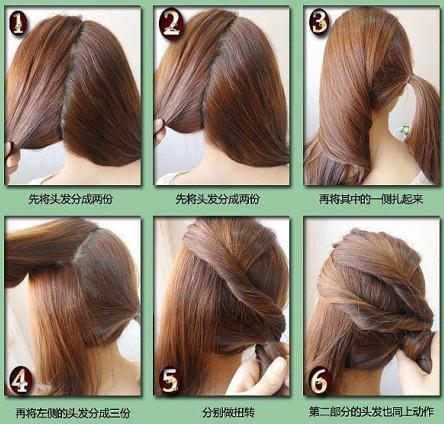 扎头发的方法视频_扎长头发的方法视频_扎短头发的