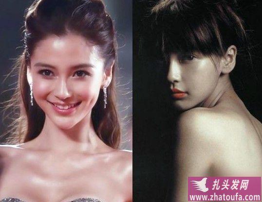 看看明星们的齐刘海与无刘海,你喜欢哪个?