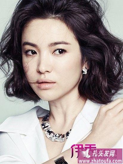 女星韩式发型