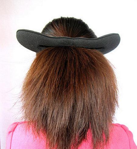 长发包包头发型_女装